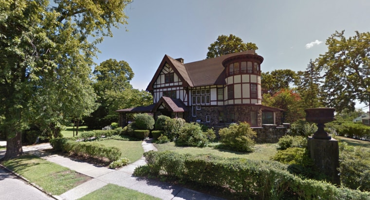 This still, taken from Google Streetview, shows the location of the proposed mosque in Yonkers, New York.
