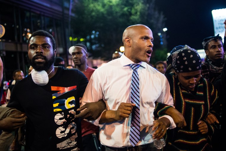 Image: State Of Emergency Declared In Charlotte After Police Shooting Sparks Violent Protests
