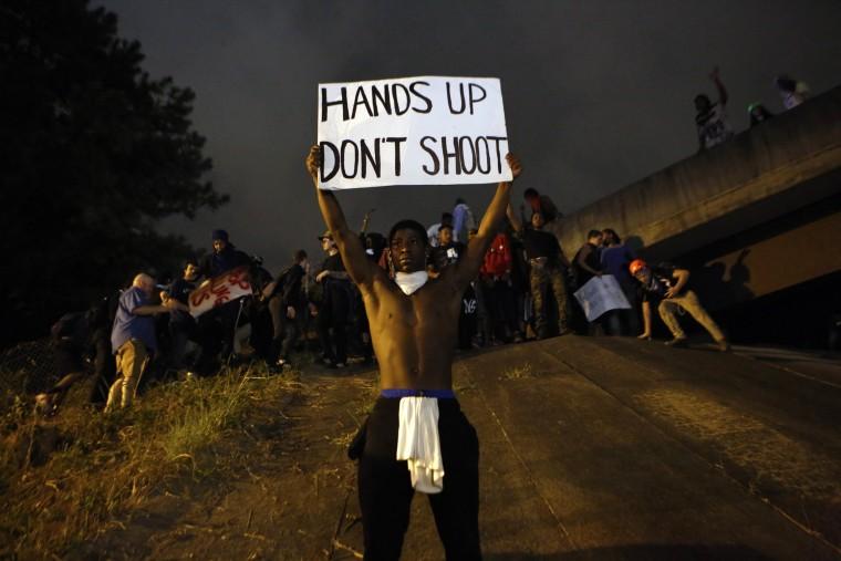 Image: BESTPIX State Of Emergency Declared In Charlotte After Police Shooting Sparks Violent Protests