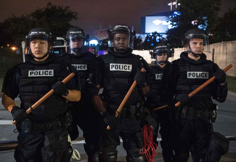 Image: TOPSHOT-US-POLICE-SHOOTING-POLITICS