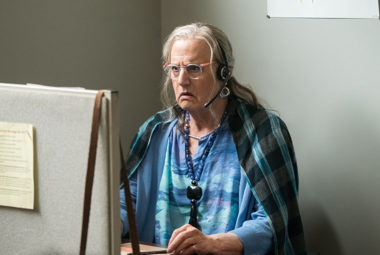 "Jeffrey Tambor as ""Maura"" in Season 3 of Amazon's ""Transparent"""