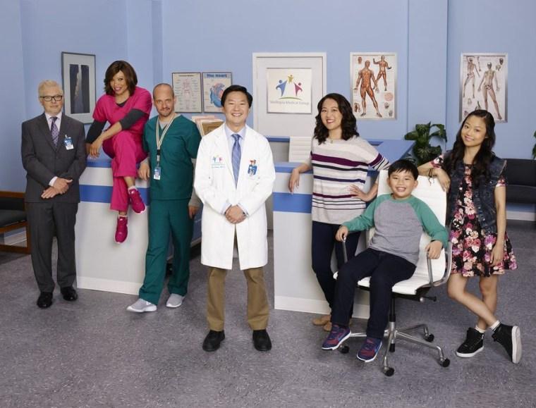 """The cast of """"Dr. Ken."""""""