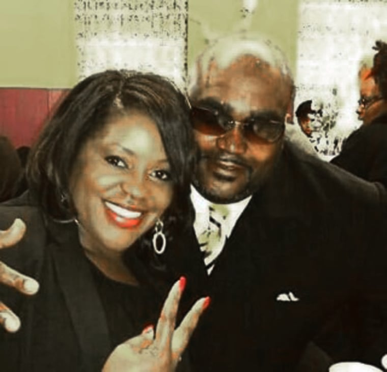 Terence Crutcher with family member