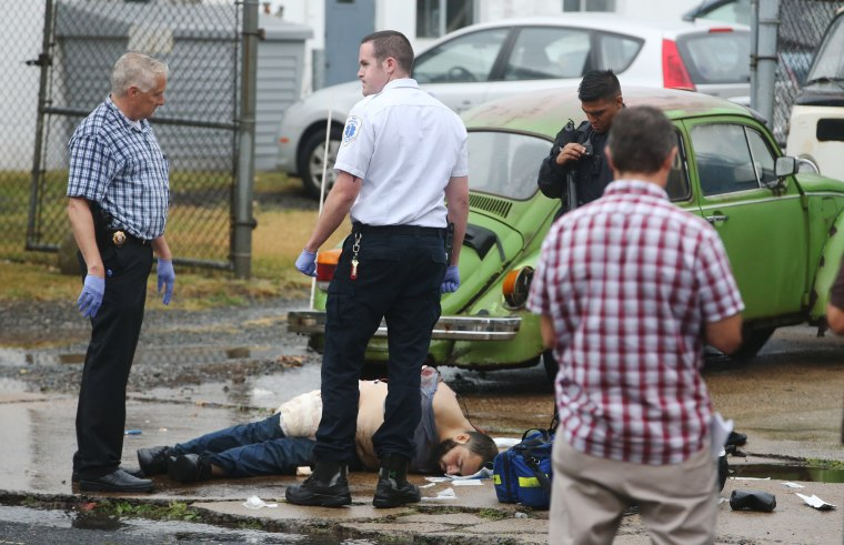 Image: New York bombing suspect Ahmad Khan Rahami is captured in Linden, N.J.