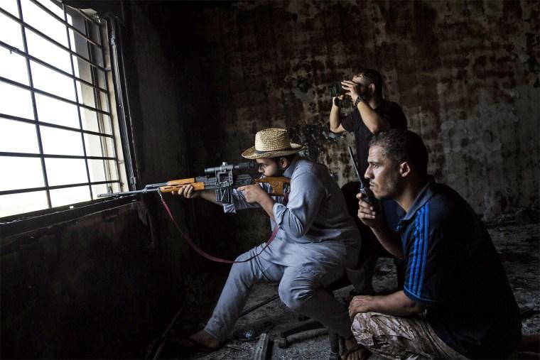 Image: TOPSHOT-LIBYA-CONFLICT-JIHADISTS