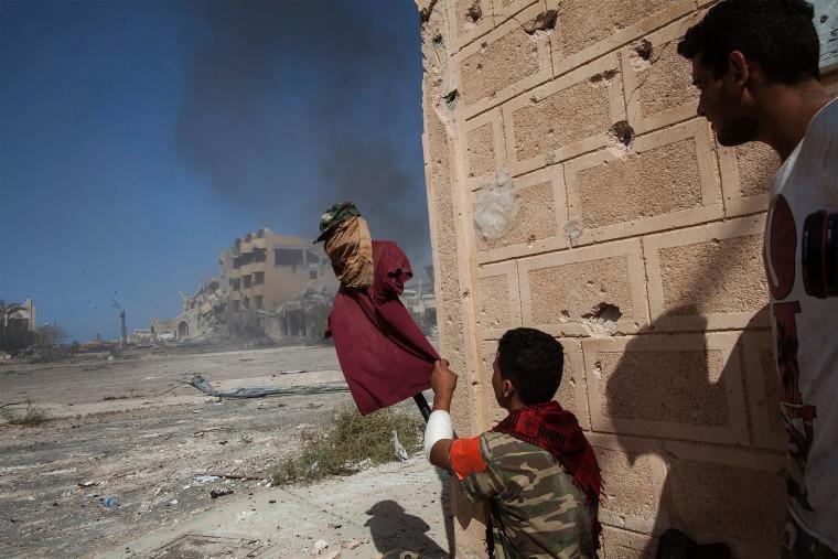 Image: TOPSHOT-LIBYA-CONFLICT-SIRTE