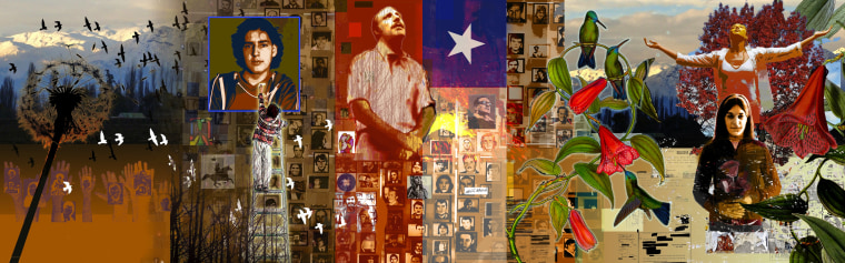 Francisco Letelier's son remember's his assassinated father, Chilean diplomat Orlando Letelier, with a full mural in Washington, D.C.