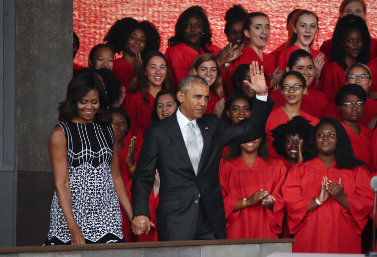 Image: National Museum Of African American History And Culture Opens In Washington, D.C.