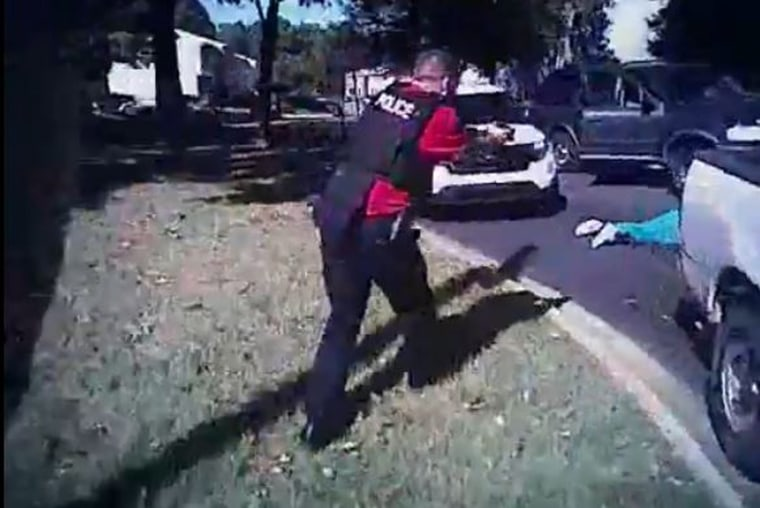 Image: Police release body cam video of shooting incident of Keith Lamont Scott