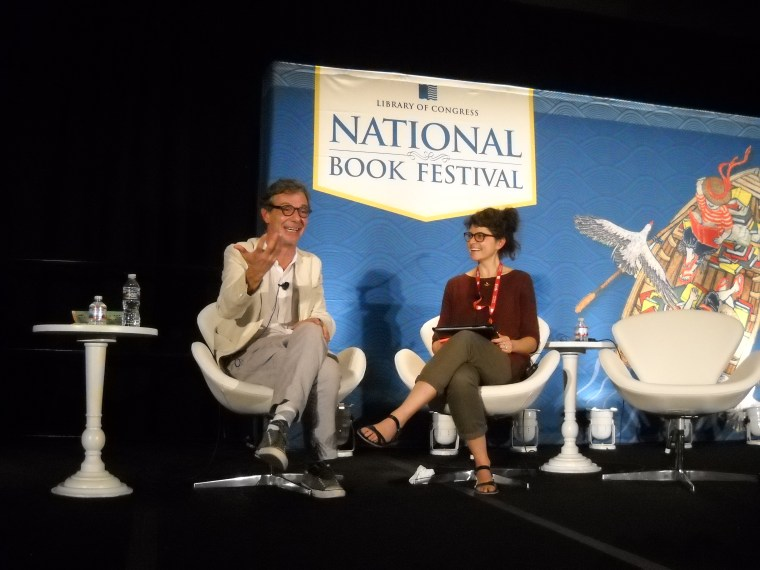 Alvaro Enrique at the 16th-annual Library of Congress National Book Festival, September 24, 2016, Washington, D.C.