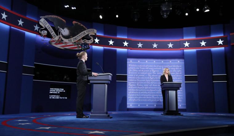 Image: First Presidential debate