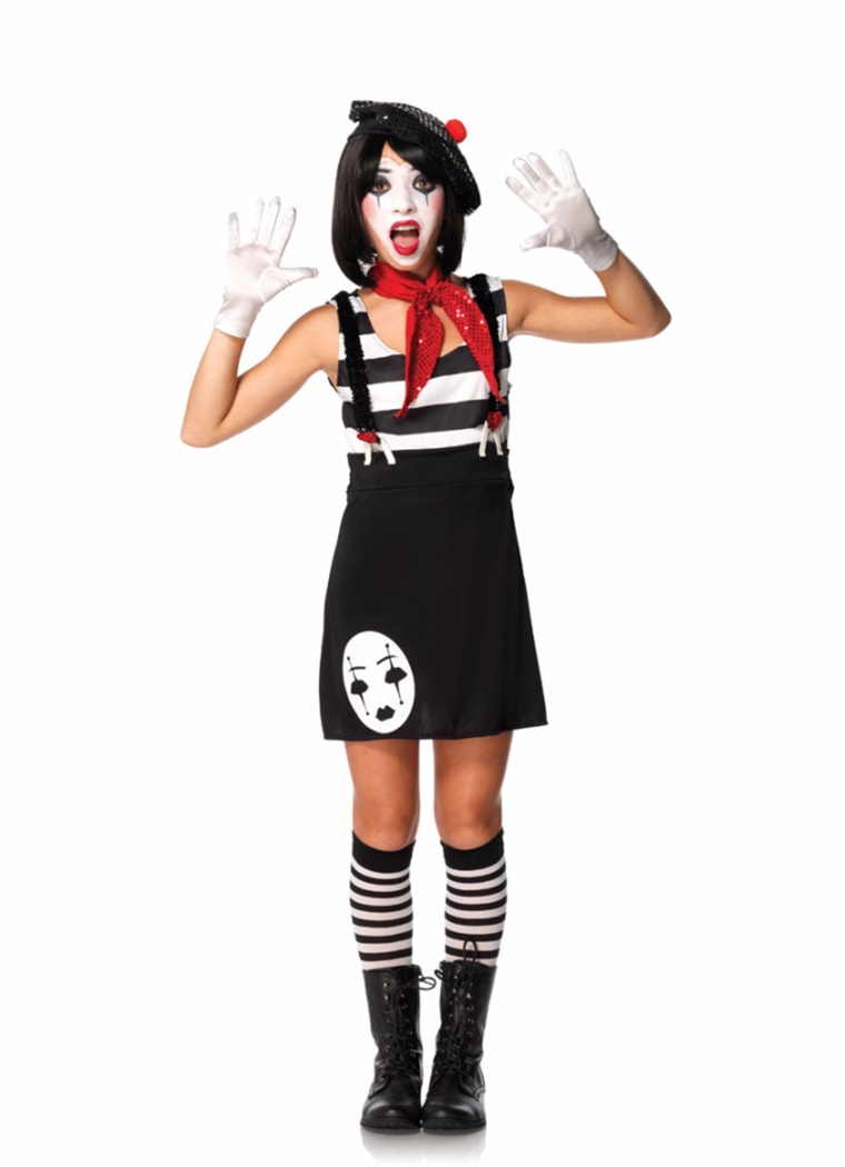 Kids Mime Costume