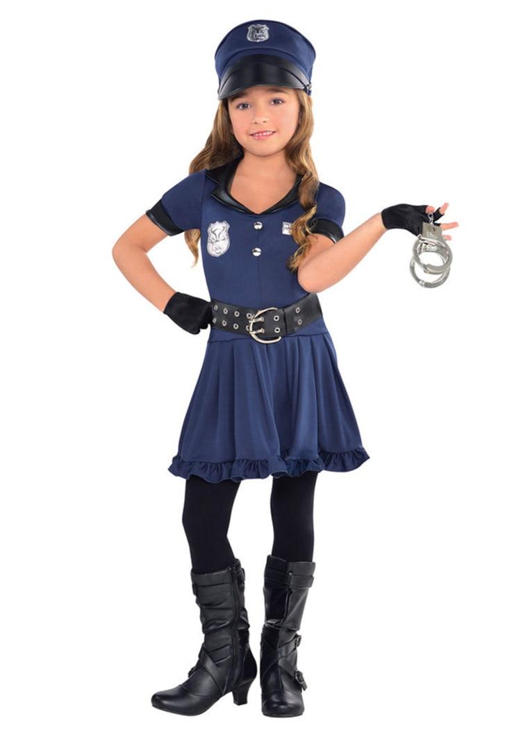 Cop Cutie Girl's Costume