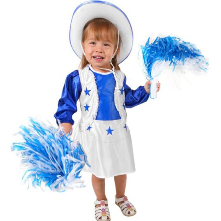 Toddler Dallas Cowboys Cheerleader Costume