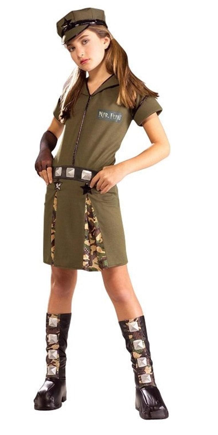 Child Major Flirt Costume