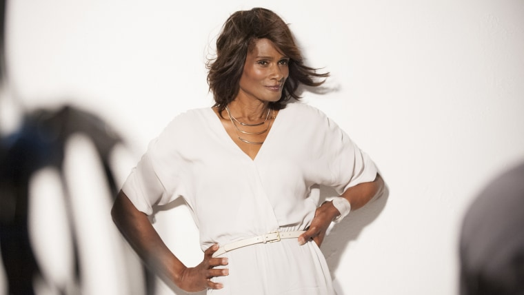 Tracey Norman, the 63-year-old transgender model
