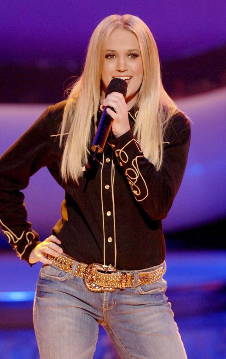 carrie underwood american idol winner