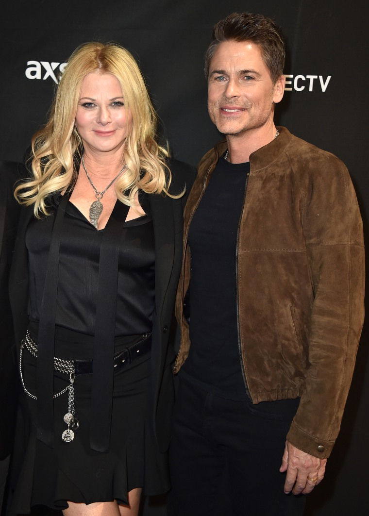 Rob Lowe opened up about reconnecting with wife Sheryl Berkoff