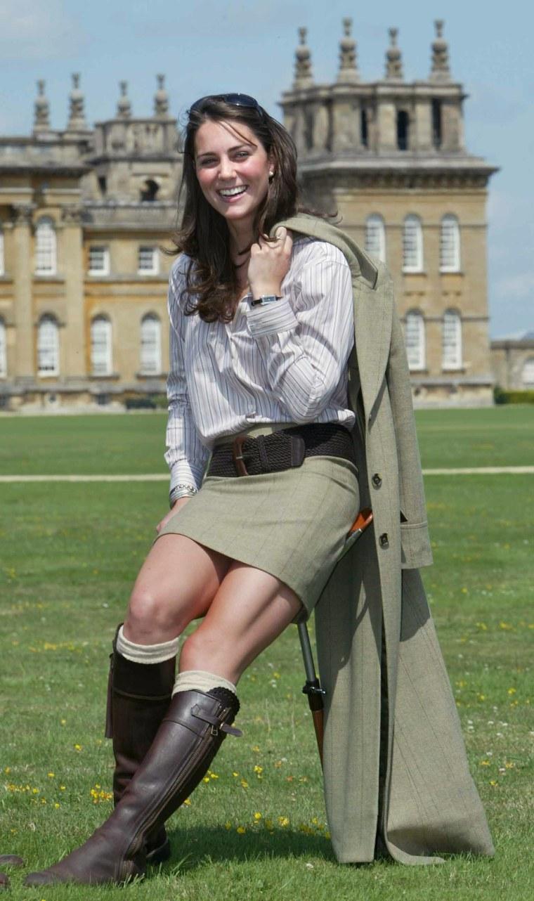 Kate Middleton at Game Fair, Blenheim Palace, Oxfordshire, Britain  - Aug 2004