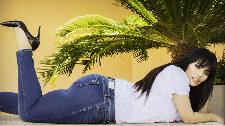 Plus-Size Model Rosie Mercado.