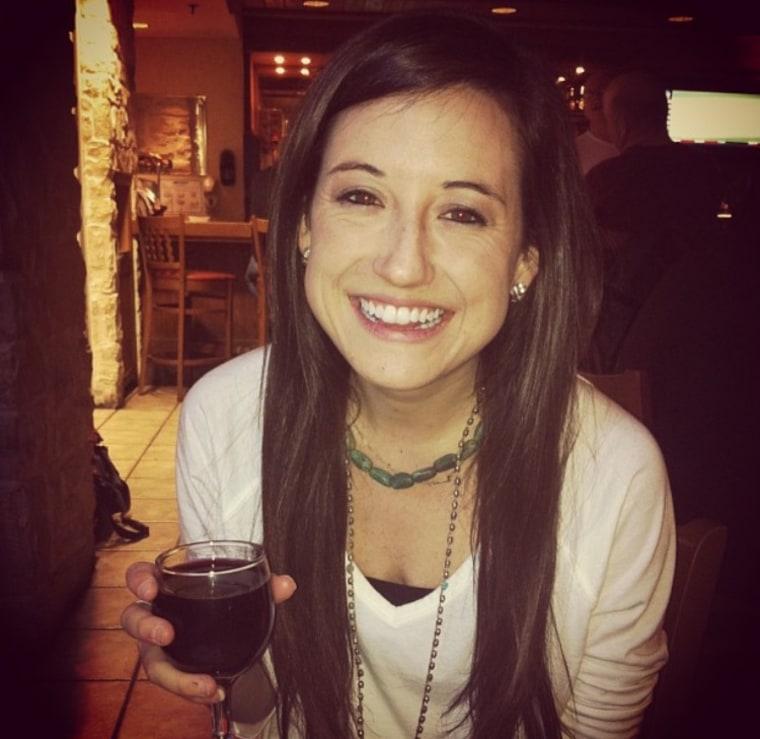 Lindsey Hall had drunkorexia.