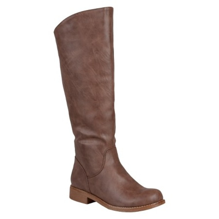 Target Slouchy Round Toe Boots