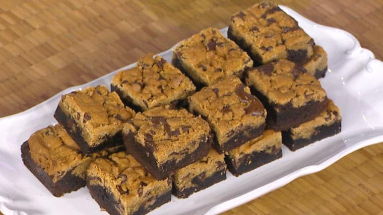 Cookies + Brownies = Brookies