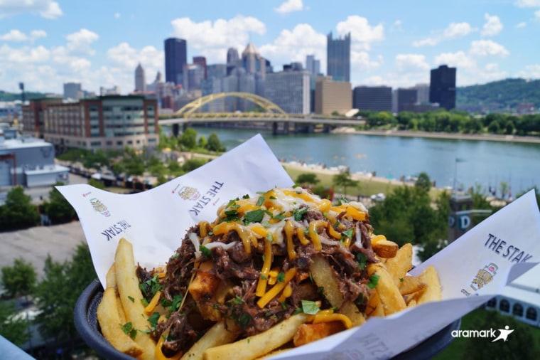 Pittsburgh Steelers' Steel City Pot Roast Stak