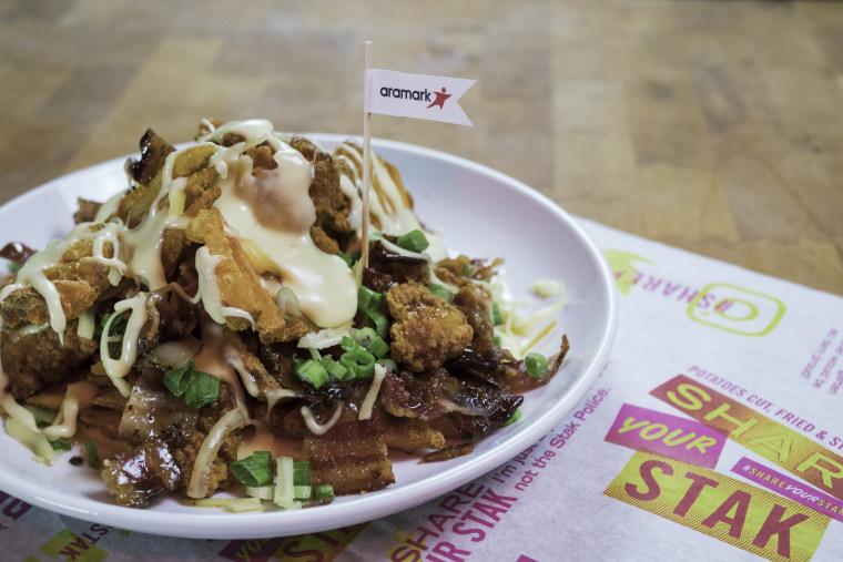 Philadelphia Eagles Chicken & Waffle Fry Stak