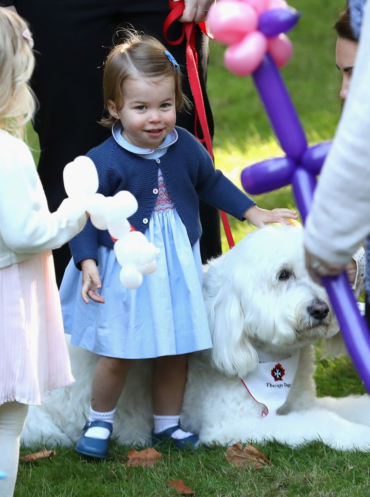 Princess Charlotte has been taking riding lessons