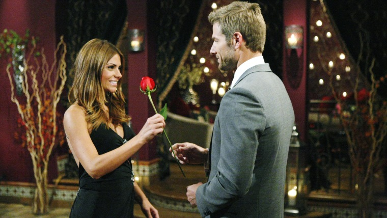 Bachelorette with rose