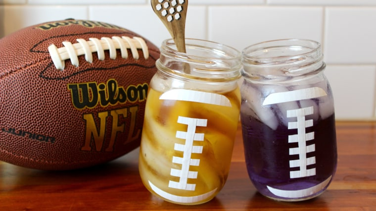 Football fan? Try these simple cocktails while you cheer on your team!