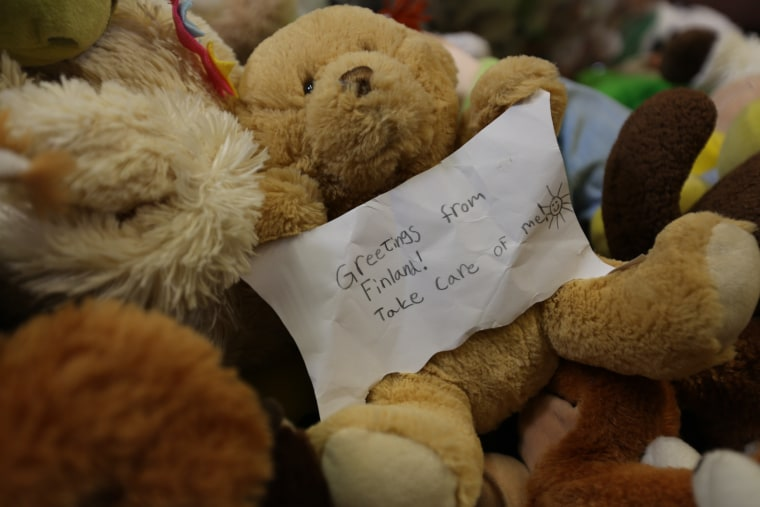 Image: Stuffed toy bound for Syria
