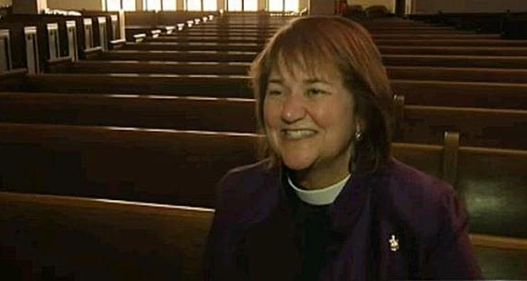 Bishop Karen Oliveto has been elected a bishop of the United Methodist Church.