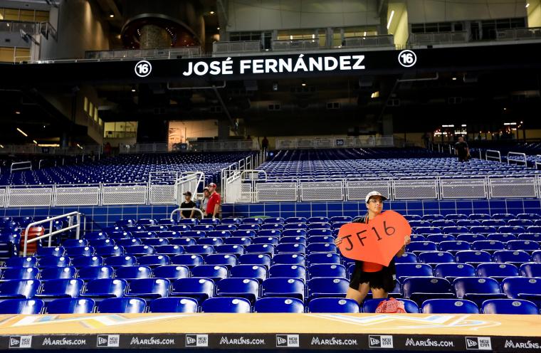 Image: New York Mets v Miami Marlins