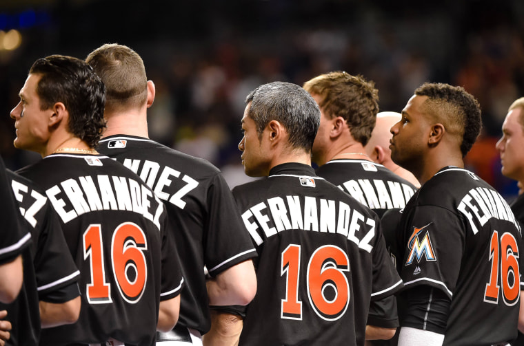 Image: MLB: New York Mets at Miami Marlins