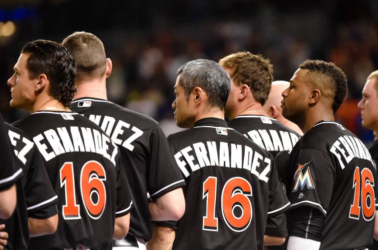 Image: MLB: New York Mets at Miami Marlins