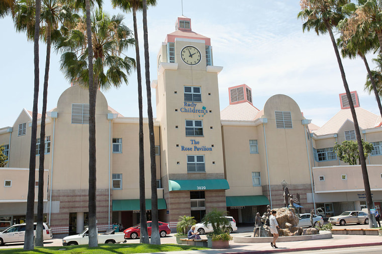 A general view of Rady Children's Hospital in San Diego, California.