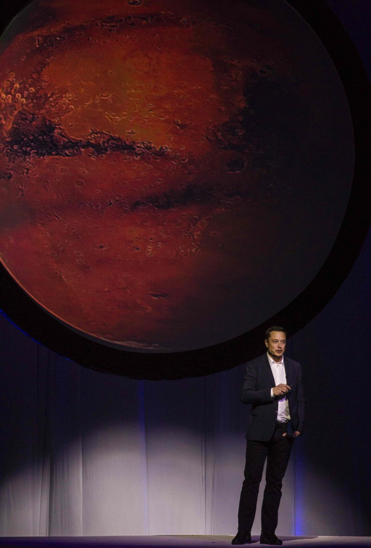 Image: MEXICO-ASTRONAUTICAL-CONGRESS-MUSK