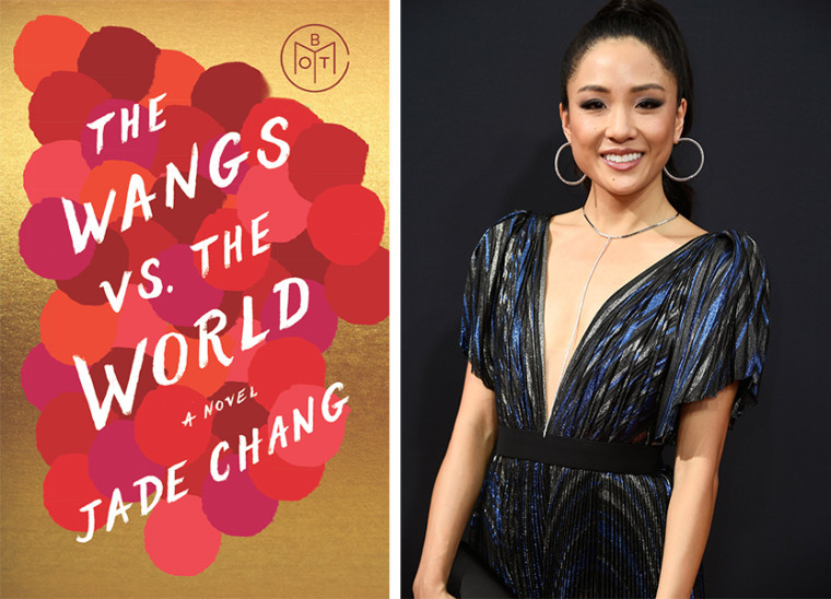 "(left) The cover for ""The Wangs vs. The World"" by Jade Chang 