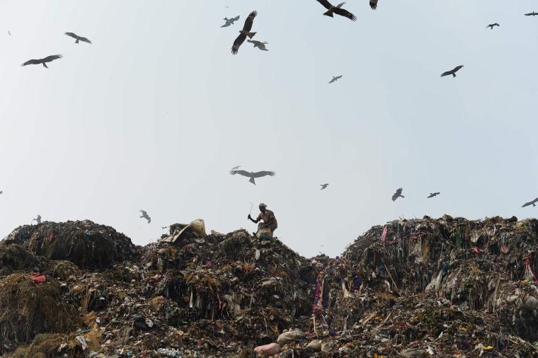 Image: TOPSHOT-INDIA-BANGLADESH-ENVIRONMENT-AIR-POLLUTION-UN