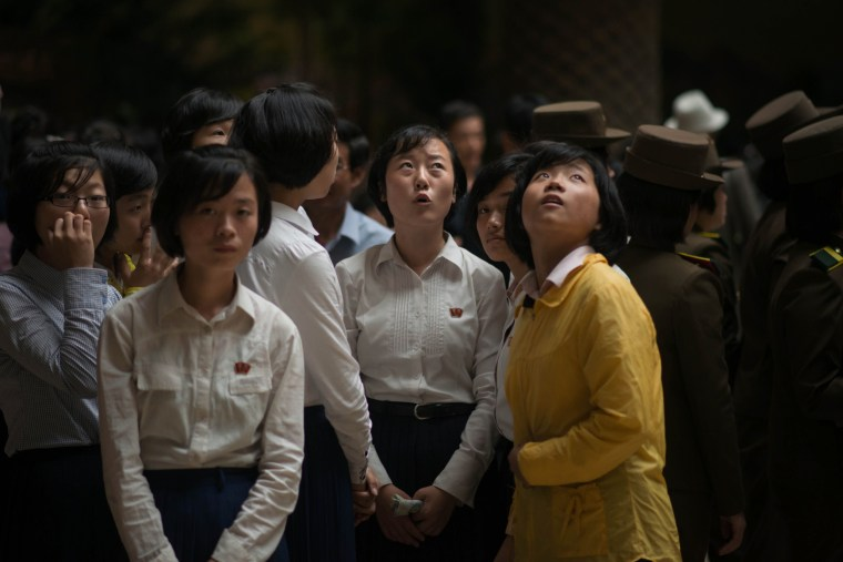 Image: NORTH KOREA-LIFESTYLE-EDUCATION