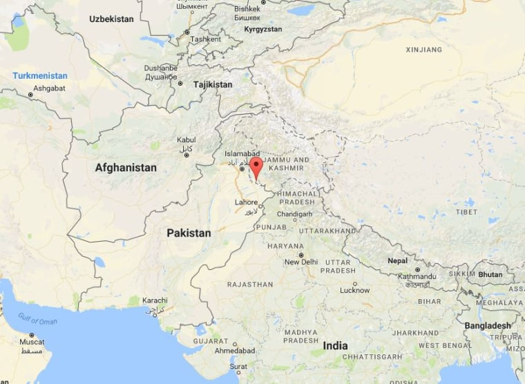 Map Of India And Pakistan Border.India Says It Launched Strikes In Pakistan Controlled Kashmir