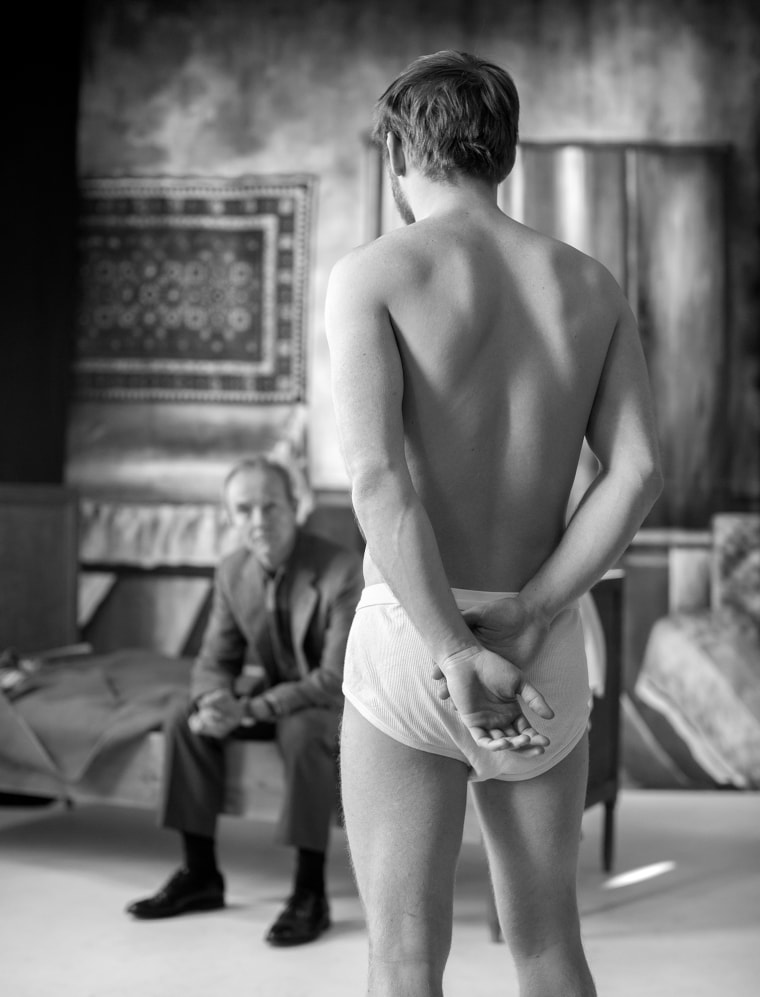 """An image from the Estonian exhibit """"NSFW: A Chairman's Tale."""""""