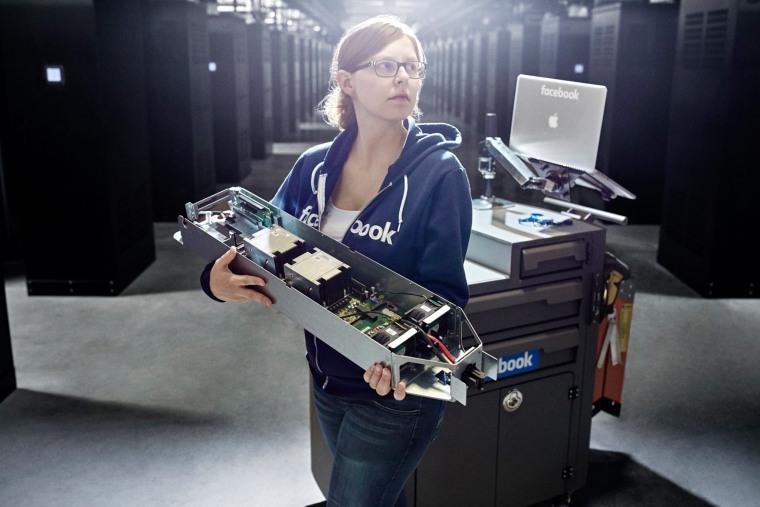 Image: Facebook's Arctic data center in Sweden