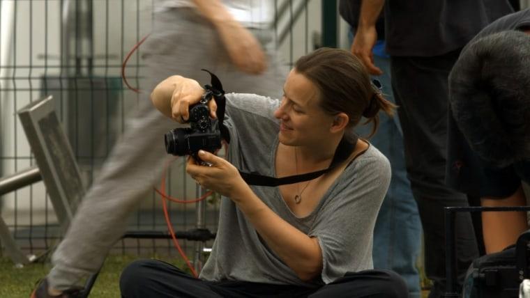 """Natalia Almada, director of the movie, """"Todo lo Demas,"""" showcased at the NY Film Festival."""