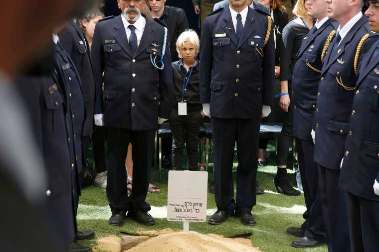 Image: Shimon Peres funeral