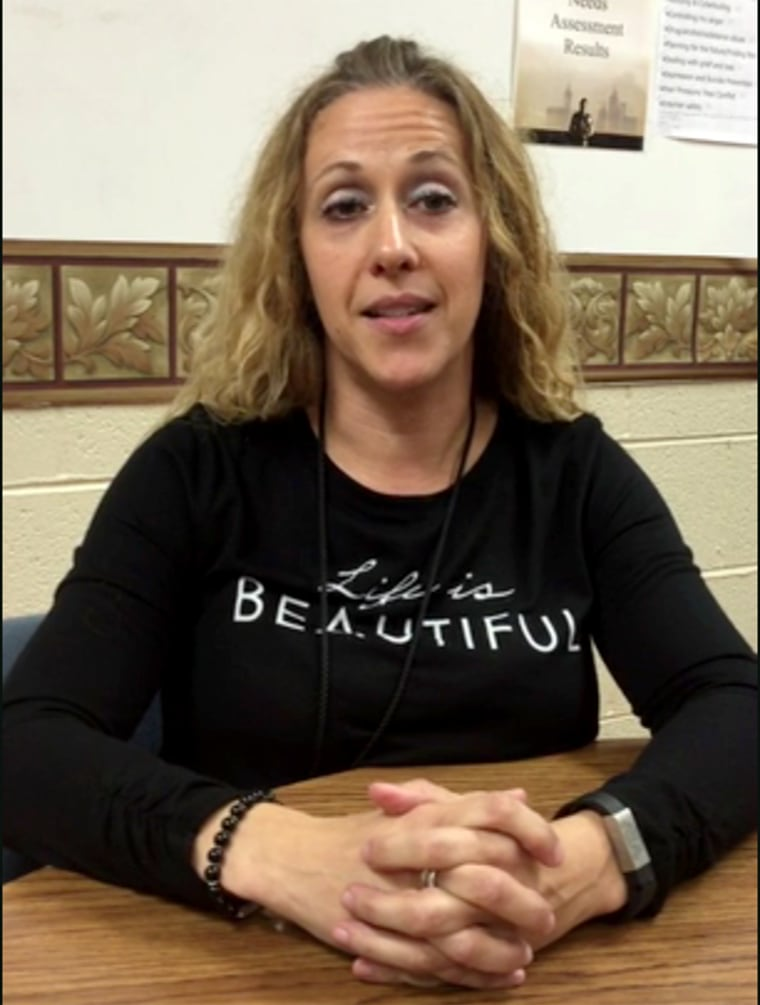 A Tennessee guidance counselor, Molly Hudgens, is being hailed as a hero after talking a middle school student out of opening fire on his teachers.