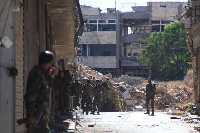 Image: SYRIA-CONFLCIT