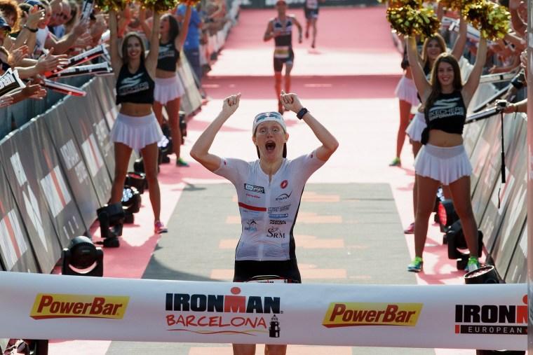 Image: *** BESTPIX *** Ironman Barcelona